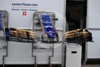 World © Octane Photographic Ltd. Formula 1 - Australian Grand Prix - Wednesday Setup. Sauber F1 Team C36. Albert Park Circuit. Wednesday 22nd March 2017. Digital Ref: 1788LB1D7781