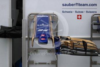 World © Octane Photographic Ltd. Formula 1 - Australian Grand Prix - Wednesday Setup. Sauber F1 Team C36. Albert Park Circuit. Wednesday 22nd March 2017. Digital Ref: 1788LB1D7786