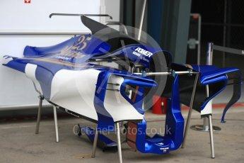 World © Octane Photographic Ltd. Formula 1 - Australian Grand Prix - Wednesday Setup. Sauber F1 Team C36. Albert Park Circuit. Wednesday 22nd March 2017. Digital Ref: 1788LB1D7790