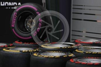 World © Octane Photographic Ltd. Formula 1 - Australian Grand Prix - Wednesday Setup. Tyres. Albert Park Circuit. Wednesday 22nd March 2017. Digital Ref: 1788LB1D7805