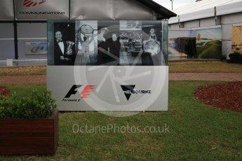World © Octane Photographic Ltd. Formula 1 - Australian Grand Prix - Wednesday Setup. Melbourne walk. Albert Park Circuit. Wednesday 22nd March 2017. Digital Ref: 1788LB2D3934