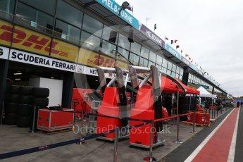 World © Octane Photographic Ltd. Formula 1 - Australian Grand Prix - Wednesday Setup. Pit Lane. Albert Park Circuit. Wednesday 22nd March 2017. Digital Ref: 1788LB2D3942