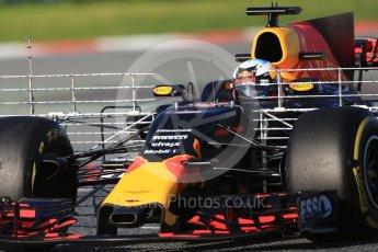 World © Octane Photographic Ltd. Formula 1 - Winter Test 2. Daniel Ricciardo - Red Bull Racing RB13. Circuit de Barcelona-Catalunya. Tuesday 7th March 2017. Digital Ref :1784CB1D0439