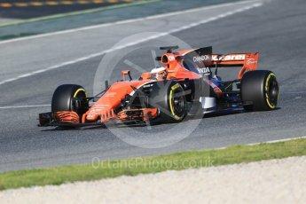 World © Octane Photographic Ltd. Formula 1 - Winter Test 2. Stoffel Vandoorne - McLaren Honda MCL32. Circuit de Barcelona-Catalunya. Tuesday 7th March 2017. Digital Ref :1784CB1D0755