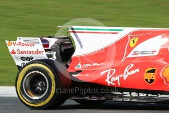 World © Octane Photographic Ltd. Formula 1 - Winter Test 2. Sebastian Vettel - Scuderia Ferrari SF70H. Circuit de Barcelona-Catalunya. Tuesday 7th March 2017. Digital Ref: 1784CB1D0954