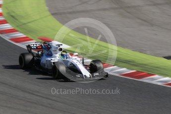 World © Octane Photographic Ltd. Formula 1 - Winter Test 2. Felipe Massa - Williams Martini Racing FW40. Circuit de Barcelona-Catalunya. Tuesday 7th March 2017. Digital Ref: 1784CB1D1035