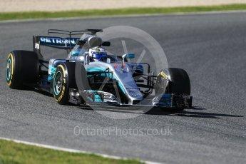 World © Octane Photographic Ltd. Formula 1 - Winter Test 2. Valtteri Bottas - Mercedes AMG Petronas F1 W08 EQ Energy+. Circuit de Barcelona-Catalunya. Tuesday 7th March 2017. Digital Ref: 1784CB1D1150