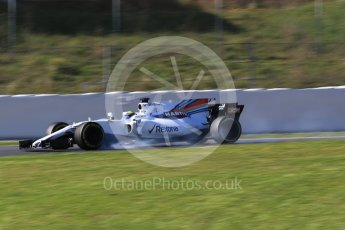 World © Octane Photographic Ltd. Formula 1 - Winter Test 2. Felipe Massa - Williams Martini Racing FW40. Circuit de Barcelona-Catalunya. Tuesday 7th March 2017. Digital Ref: 1784CB1D1257