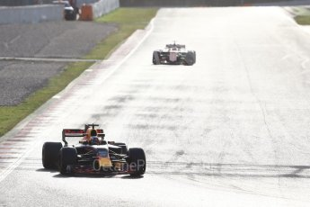 World © Octane Photographic Ltd. Formula 1 - Winter Test 2. Daniel Ricciardo - Red Bull Racing RB13. Circuit de Barcelona-Catalunya. Tuesday 7th March 2017. Digital Ref :1784CB1D1479