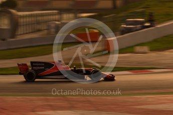 World © Octane Photographic Ltd. Formula 1 - Winter Test 2. Stoffel Vandoorne - McLaren Honda MCL32. Circuit de Barcelona-Catalunya. Tuesday 7th March 2017. Digital Ref :1784CB1D1602