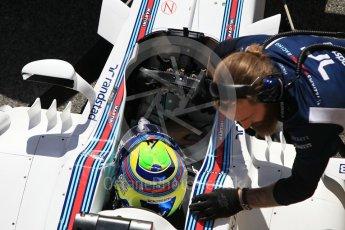 World © Octane Photographic Ltd. Formula 1 - Winter Test 2. Felipe Massa - Williams Martini Racing FW40. Circuit de Barcelona-Catalunya. Tuesday 7th March 2017. Digital Ref :1784CB1D5035