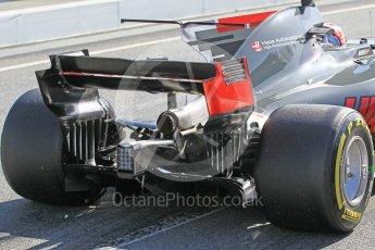 World © Octane Photographic Ltd. Formula 1 - Winter Test 2. Kevin Magnussen - Haas F1 Team VF-17. Circuit de Barcelona-Catalunya. Tuesday 7th March 2017. Digital Ref: 1784CB1D5348