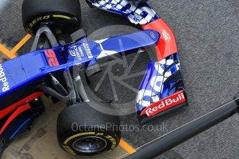 World © Octane Photographic Ltd. Formula 1 - Winter Test 2. Daniil Kvyat - Scuderia Toro Rosso STR12. Circuit de Barcelona-Catalunya. Tuesday 7th March 2017. Digital Ref :1784CB1D5395