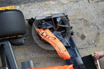 World © Octane Photographic Ltd. Formula 1 - Winter Test 2. Stoffel Vandoorne - McLaren Honda MCL32. Circuit de Barcelona-Catalunya. Tuesday 7th March 2017. Digital Ref :1784CB1D5441