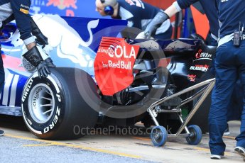World © Octane Photographic Ltd. Formula 1 - Winter Test 2. Daniil Kvyat - Scuderia Toro Rosso STR12. Circuit de Barcelona-Catalunya. Tuesday 7th March 2017. Digital Ref :1784LB1D2521