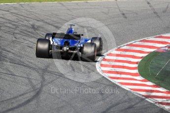 World © Octane Photographic Ltd. Formula 1 - Winter Test 2. Pascal Wehrlein – Sauber F1 Team C36. Circuit de Barcelona-Catalunya. Tuesday 7th March 2017. Digital Ref :1784LB1D2708