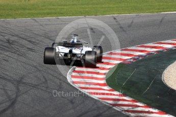 World © Octane Photographic Ltd. Formula 1 - Winter Test 2. Felipe Massa - Williams Martini Racing FW40. Circuit de Barcelona-Catalunya. Tuesday 7th March 2017. Digital Ref :1784LB1D2755
