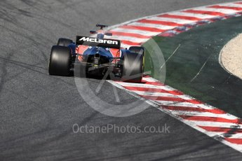 World © Octane Photographic Ltd. Formula 1 - Winter Test 2. Stoffel Vandoorne - McLaren Honda MCL32. Circuit de Barcelona-Catalunya. Tuesday 7th March 2017. Digital Ref :1784LB1D2795