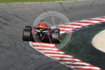 World © Octane Photographic Ltd. Formula 1 - Winter Test 2. Daniel Ricciardo - Red Bull Racing RB13. Circuit de Barcelona-Catalunya. Tuesday 7th March 2017. Digital Ref :1784LB1D2804