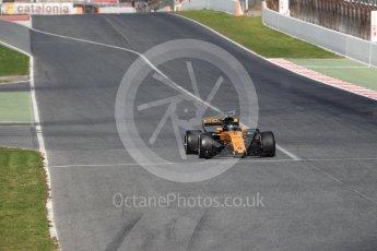 World © Octane Photographic Ltd. Formula 1 - Winter Test 2. Nico Hulkenberg - Renault Sport F1 Team R.S.17. Circuit de Barcelona-Catalunya. Tuesday 7th March 2017. Digital Ref: 1784LB1D3460