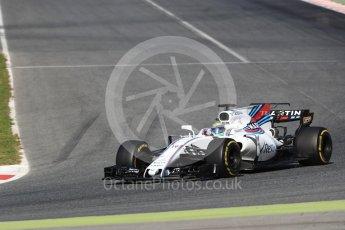 World © Octane Photographic Ltd. Formula 1 - Winter Test 2. Felipe Massa - Williams Martini Racing FW40. Circuit de Barcelona-Catalunya. Tuesday 7th March 2017. Digital Ref: 1784LB1D3591