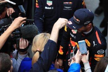 World © Octane Photographic Ltd. Formula 1 - Winter Test 2. Daniel Ricciardo - Red Bull Racing. Circuit de Barcelona-Catalunya. Tuesday 7th March 2017. Digital Ref: 1784LB1D3664