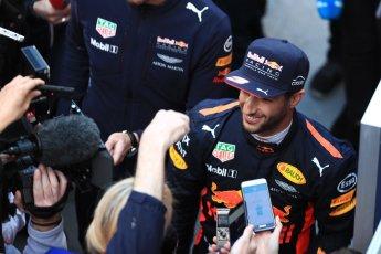 World © Octane Photographic Ltd. Formula 1 - Winter Test 2. Daniel Ricciardo - Red Bull Racing. Circuit de Barcelona-Catalunya. Tuesday 7th March 2017. Digital Ref: 1784LB1D3673