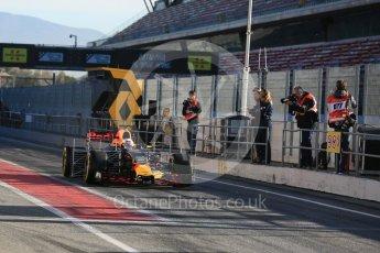 World © Octane Photographic Ltd. Formula 1 - Winter Test 2. Daniel Ricciardo - Red Bull Racing RB13. Circuit de Barcelona-Catalunya. Tuesday 7th March 2017. Digital Ref :1784LB5D9238