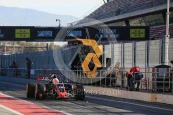 World © Octane Photographic Ltd. Formula 1 - Winter Test 2. Kevin Magnussen - Haas F1 Team VF-17. Circuit de Barcelona-Catalunya. Tuesday 7th March 2017. Digital Ref :1784LB5D9272