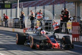 World © Octane Photographic Ltd. Formula 1 - Winter Test 2. Kevin Magnussen - Haas F1 Team VF-17. Circuit de Barcelona-Catalunya. Tuesday 7th March 2017. Digital Ref :1784LB5D9278