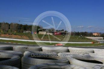 World © Octane Photographic Ltd. Formula 1 - Winter Test 2. Sebastian Vettel - Scuderia Ferrari SF70H. Circuit de Barcelona-Catalunya. Tuesday 7th March 2017. Digital Ref: 1784LB5D9465