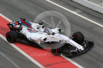 World © Octane Photographic Ltd. Formula 1 - Winter Test 2. Lance Stroll - Williams Martini Racing FW40. Circuit de Barcelona-Catalunya. Wednesday 8th March 2017. Digital Ref:1785CB1D2221