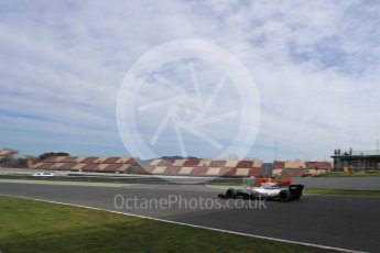 World © Octane Photographic Ltd. Formula 1 - Winter Test 2. Lance Stroll - Williams Martini Racing FW40. Circuit de Barcelona-Catalunya. Wednesday 8th March 2017. Digital Ref: 1785LB1D4646