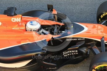 World © Octane Photographic Ltd. Formula 1 - Winter Test 1. Fernando Alonso - McLaren Honda MCL32. Circuit de Barcelona-Catalunya. Wednesday 1st March 2017. Digital Ref :1782CB1D4337
