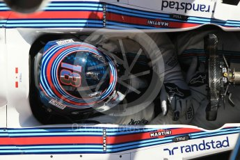 World © Octane Photographic Ltd. Formula 1 - Winter Test 1. Lance Stroll - Williams Martini Racing FW40. Circuit de Barcelona-Catalunya. Wednesday 1st March 2017. Digital Ref :1782CB1D4563