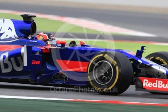 World © Octane Photographic Ltd. Formula 1 - Winter Test 1. Daniil Kvyat - Scuderia Toro Rosso STR12. Circuit de Barcelona-Catalunya. Wednesday 1st March 2017. Digital Ref :1782CB1D7872