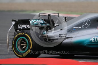 World © Octane Photographic Ltd. Formula 1 - Winter Test 1. Valtteri Bottas - Mercedes AMG Petronas F1 W08 EQ Energy+. Circuit de Barcelona-Catalunya. Wednesday 1st March 2017. Digital Ref :1782CB1D7909