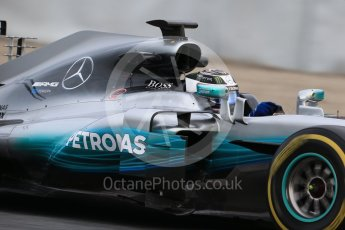 World © Octane Photographic Ltd. Formula 1 - Winter Test 1. Valtteri Bottas - Mercedes AMG Petronas F1 W08 EQ Energy+. Circuit de Barcelona-Catalunya. Wednesday 1st March 2017. Digital Ref :1782CB1D8028