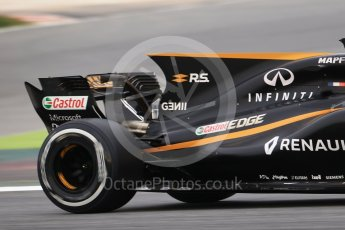 World © Octane Photographic Ltd. Formula 1 - Winter Test 1. Jolyon Palmer - Renault Sport F1 Team R.S.17. Circuit de Barcelona-Catalunya. Wednesday 1st March 2017. Digital Ref :1782CB1D8046