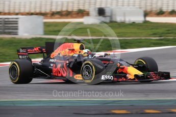 World © Octane Photographic Ltd. Formula 1 - Winter Test 1. Daniel Ricciardo - Red Bull Racing RB13. Circuit de Barcelona-Catalunya. Wednesday 1st March 2017. Digital Ref :1782CB1D8242