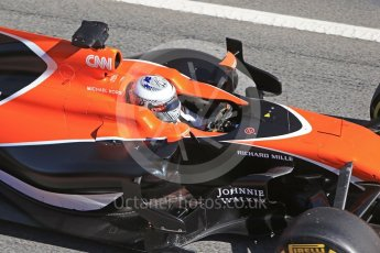 World © Octane Photographic Ltd. Formula 1 - Winter Test 1. Fernando Alonso - McLaren Honda MCL32. Circuit de Barcelona-Catalunya. Wednesday 1st March 2017. Digital Ref :1782CB1D8472