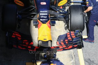 World © Octane Photographic Ltd. Formula 1 - Winter Test 1. Daniel Ricciardo - Red Bull Racing RB13. Circuit de Barcelona-Catalunya. Wednesday 1st March 2017. Digital Ref :1782CB1D8553