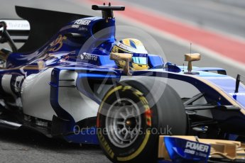 World © Octane Photographic Ltd. Formula 1 - Winter Test 1. Marcus Ericsson – Sauber F1 Team C36. Circuit de Barcelona-Catalunya. Wednesday 1st March 2017. Digital Ref : 1782LB1D9651