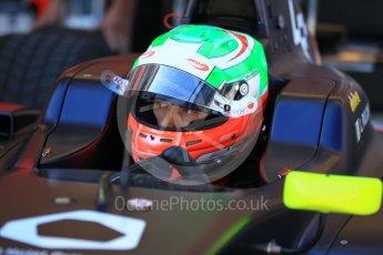World © Octane Photographic Ltd. GP3 - Practice. Leonardo Pulcini - Arden International. Circuit de Barcelona - Catalunya, Spain. Friday 12th May 2017. Digital Ref:1814CB1L8670