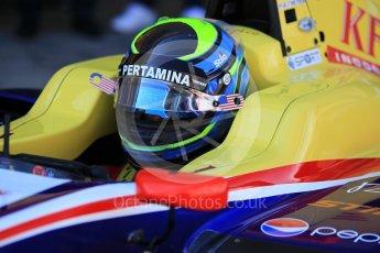 World © Octane Photographic Ltd. GP3 - Practice. Ryan Tveter – Trident. Circuit de Barcelona - Catalunya, Spain. Friday 12th May 2017. Digital Ref:1814CB1L8685