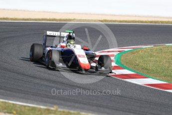 World © Octane Photographic Ltd. GP3 - Race 2. Dorian Boccolacci – Trident. Circuit de Barcelona - Catalunya, Spain. Sunday 14th May 2017. Digital Ref:1821LB1D2875