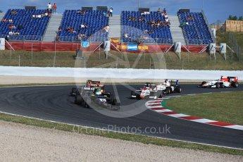 World © Octane Photographic Ltd. GP3 - Race 2. Leonardo Pulcini - Arden International. Circuit de Barcelona - Catalunya, Spain. Sunday 14th May 2017. Digital Ref:1821LB2D8674