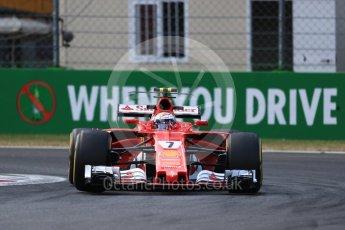 World © Octane Photographic Ltd. Formula 1 - Italian Grand Prix - Practice 2. Kimi Raikkonen - Scuderia Ferrari SF70H. Monza, Italy. Friday 1st September 2017. Digital Ref: 1939LB1D2344
