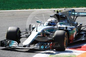 World © Octane Photographic Ltd. Formula 1 - Italian Grand Prix - Practice 2. Valtteri Bottas - Mercedes AMG Petronas F1 W08 EQ Energy+. Monza, Italy. Friday 1st September 2017. Digital Ref: 1939LB1D2462