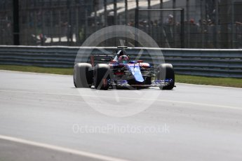 World © Octane Photographic Ltd. Formula 1 - Italian Grand Prix - Practice 2. Daniil Kvyat - Scuderia Toro Rosso STR12. Monza, Italy. Friday 1st September 2017. Digital Ref: 1939LB1D2742